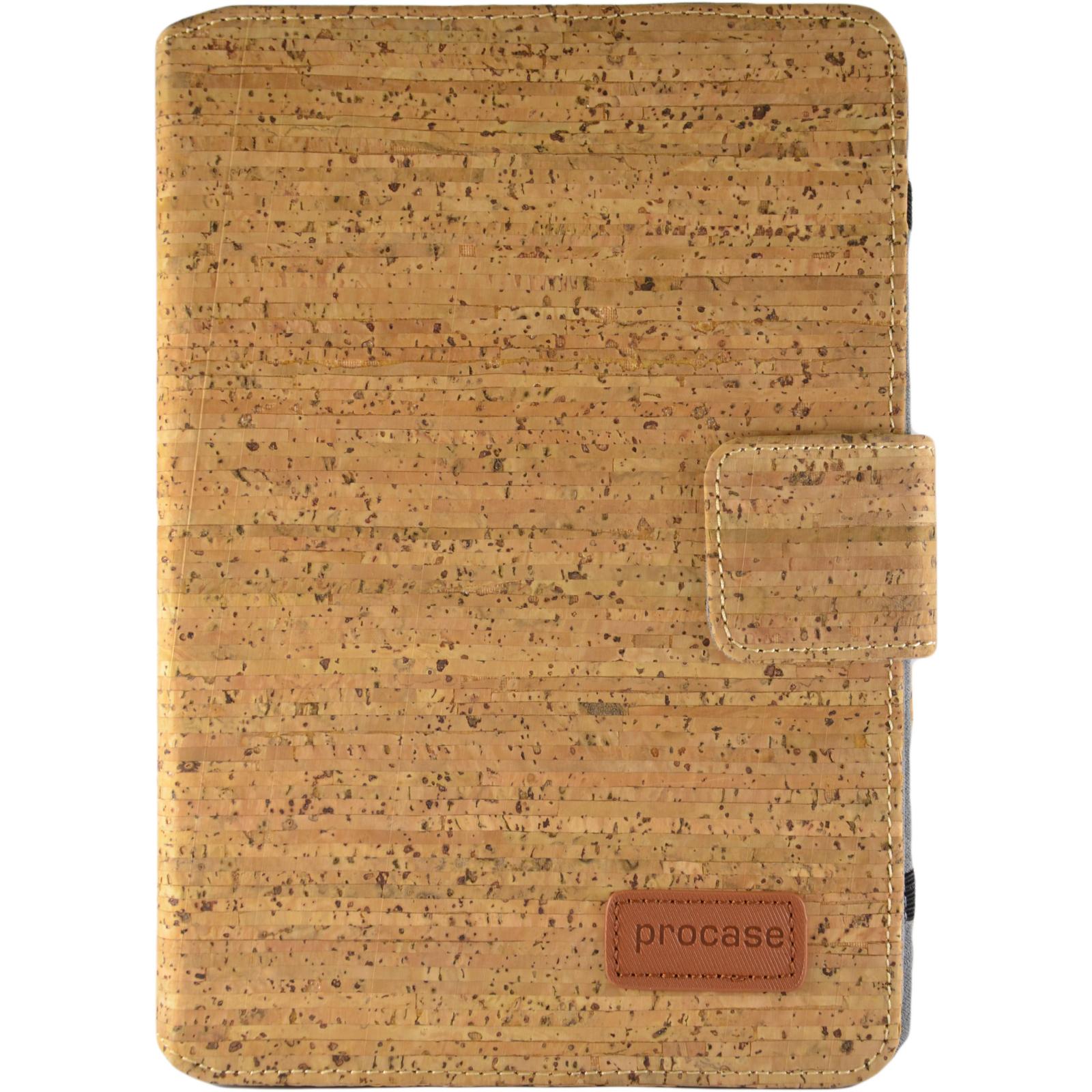 "Чехол для планшета Pro-case Чохол планшету унiверсальний Pro-case Cork case 7-8"" beige (UNS-045)"