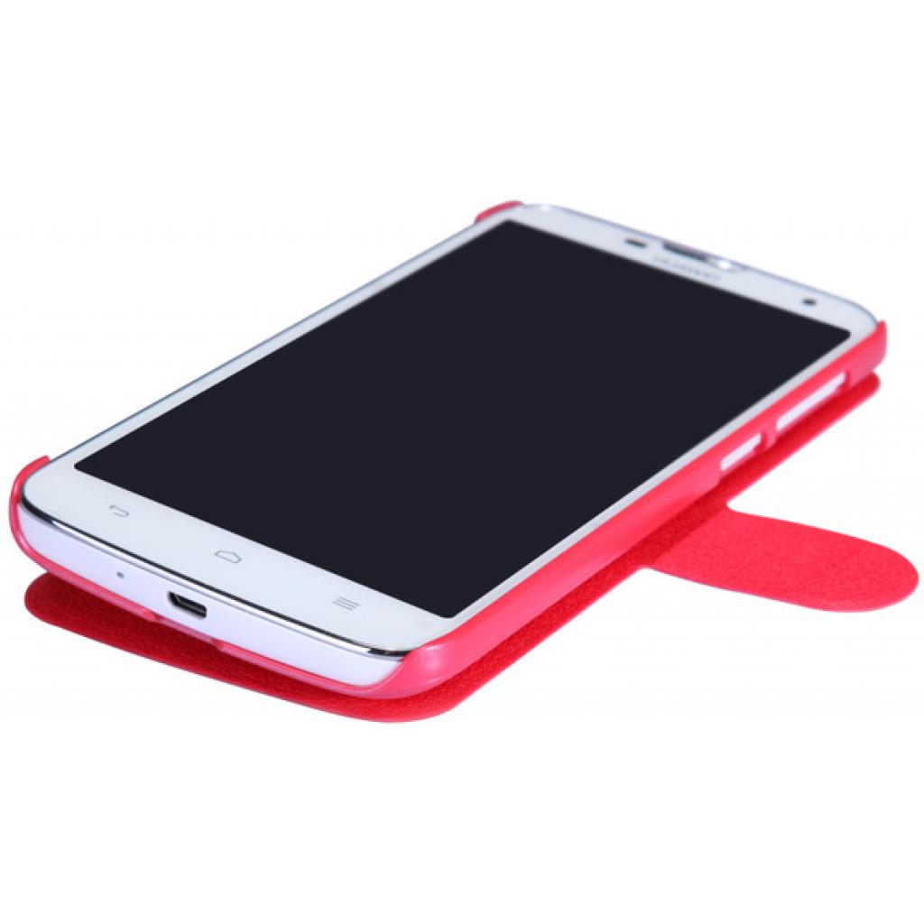 Чехол для моб. телефона NILLKIN для Huawei G730/Fresh/ Leather/Red (6147125) изображение 3