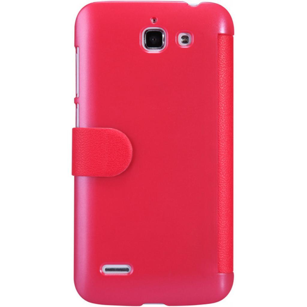 Чехол для моб. телефона NILLKIN для Huawei G730/Fresh/ Leather/Red (6147125) изображение 5