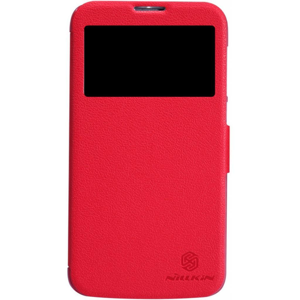 Чехол для моб. телефона NILLKIN для Huawei G730/Fresh/ Leather/Red (6147125)