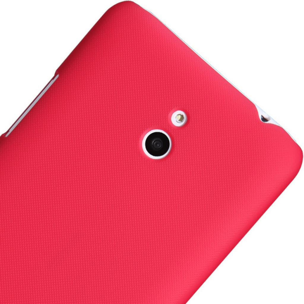 Чехол для моб. телефона NILLKIN для Nokia Lumia 20 /Super Frosted Shield/Red (6135221) изображение 4