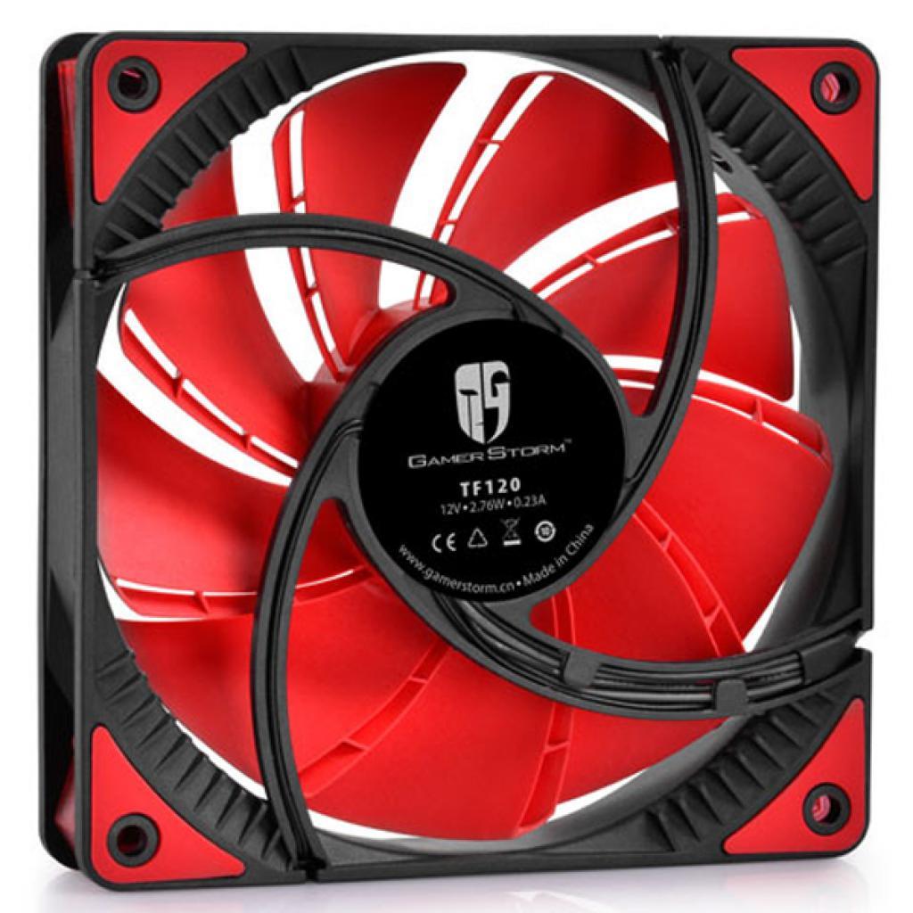 Кулер для корпуса Deepcool GAMER STORM (TF120 Red) изображение 2