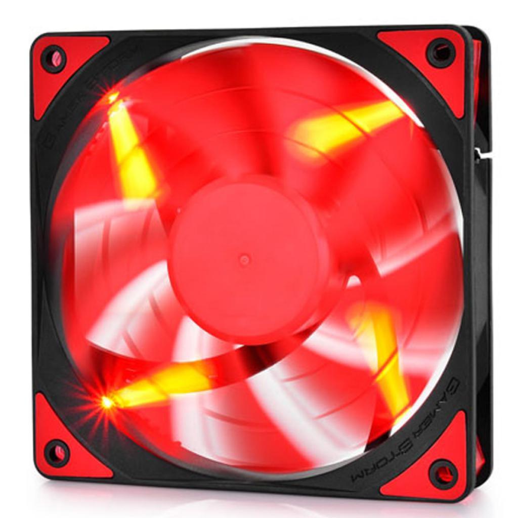Кулер для корпуса Deepcool GAMER STORM (TF120 Red) изображение 5