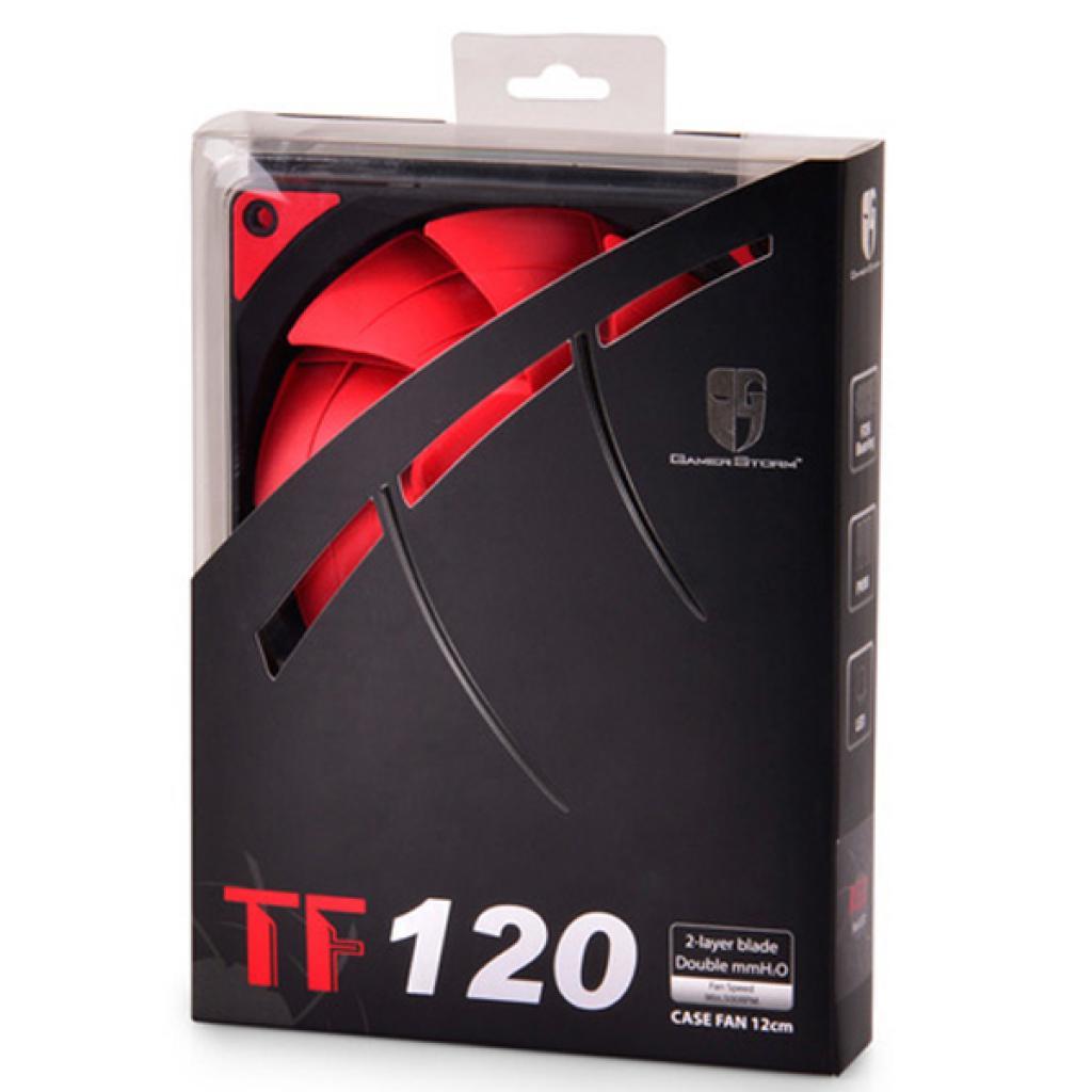 Кулер для корпуса Deepcool GAMER STORM (TF120 Red) изображение 7