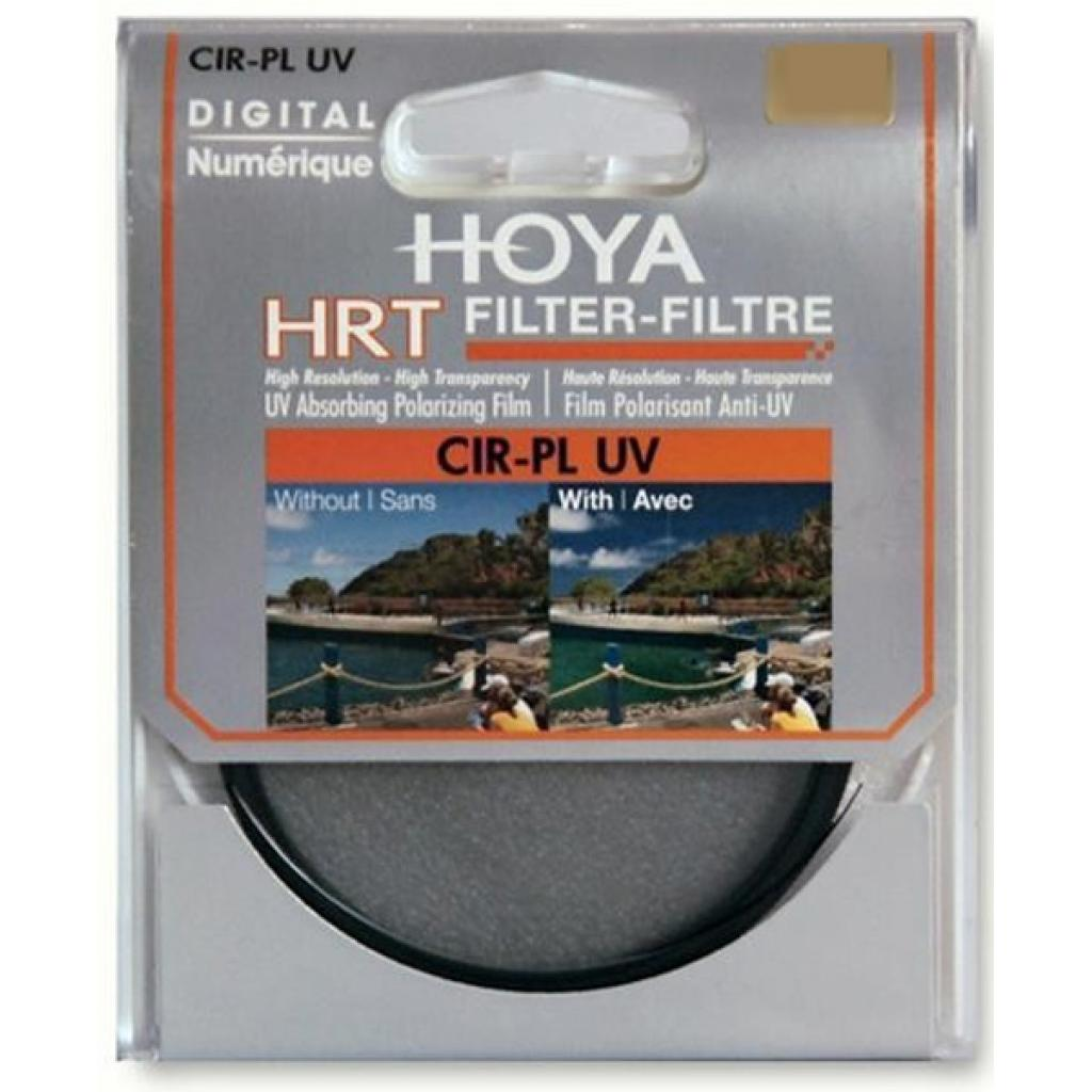 Светофильтр Hoya HRT Pol-Circ. 55mm (0024066051646) изображение 2