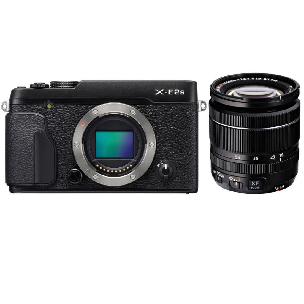 Цифровой фотоаппарат Fujifilm X-E2S + XF 18-55mm F2.8-4R Kit Black (16499227) изображение 6