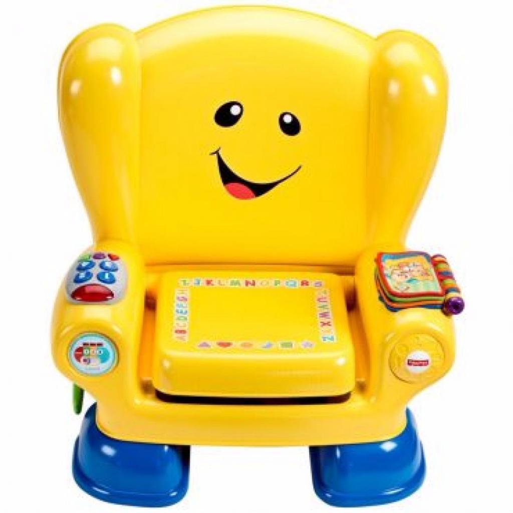 Развивающая игрушка Fisher-Price Волшебный стул-кресло с технологией Smart Stages (рус) (CJH63) изображение 2