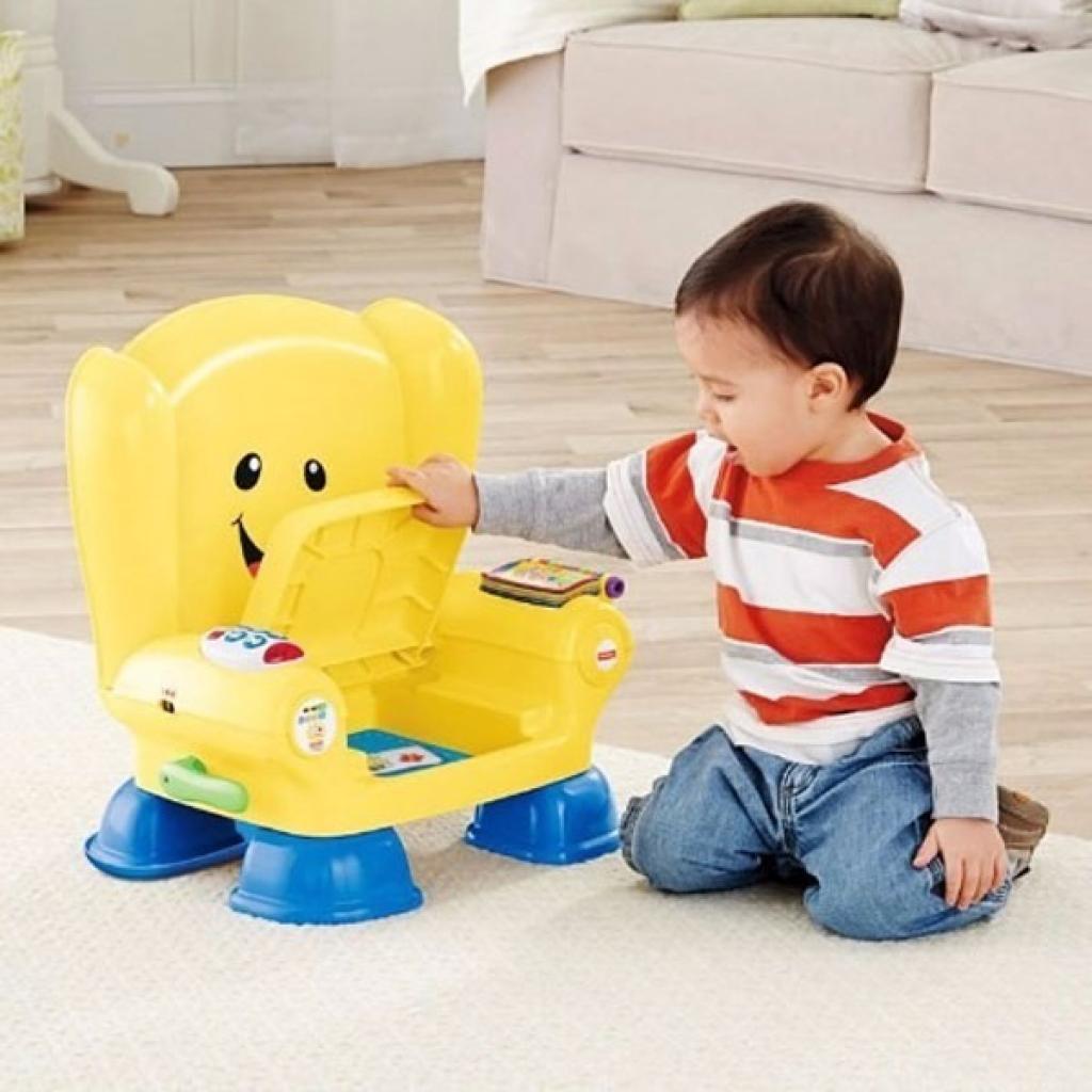 Развивающая игрушка Fisher-Price Волшебный стул-кресло с технологией Smart Stages (рус) (CJH63) изображение 4