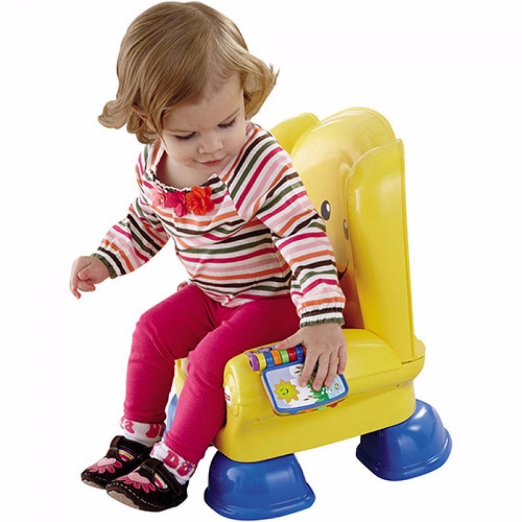Развивающая игрушка Fisher-Price Волшебный стул-кресло с технологией Smart Stages (рус) (CJH63) изображение 5