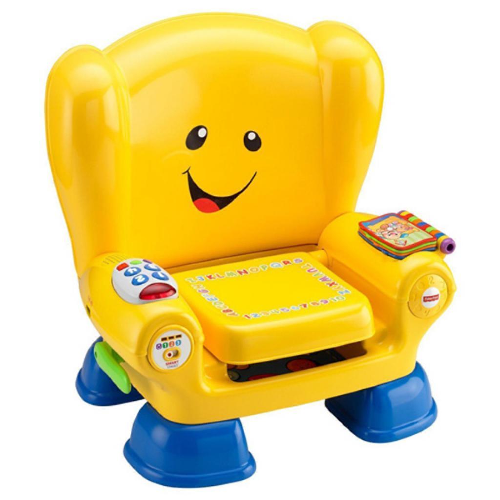 Развивающая игрушка Fisher-Price Волшебный стул-кресло с технологией Smart Stages (рус) (CJH63)