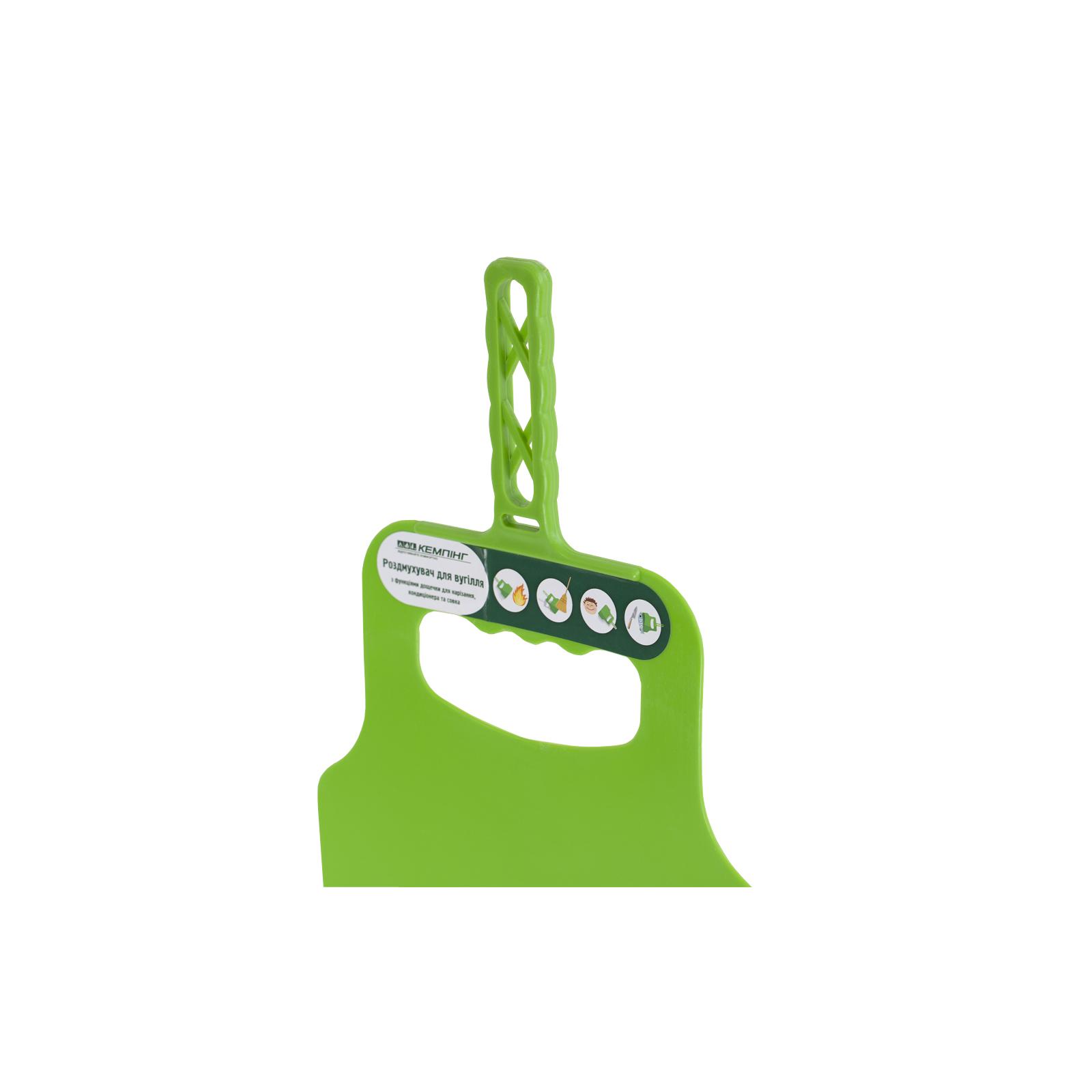 Лопатка для раздувания углей Кемпінг Пикник (4820152610645) изображение 3