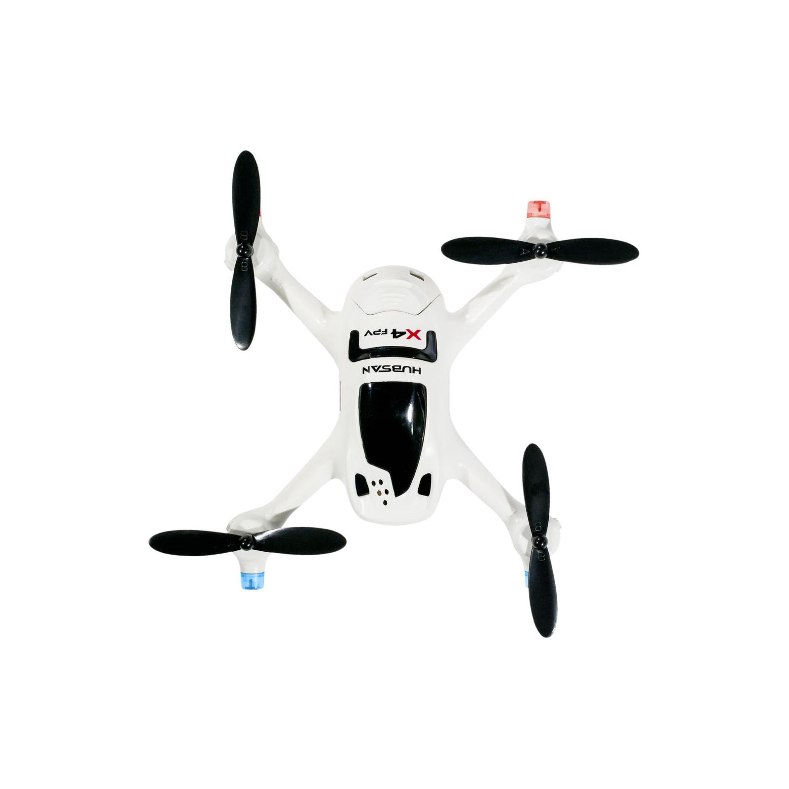 Квадрокоптер Hubsan H107D+ X4 FPV 2.4ГГц 5.8ГГц 4CH RC белый (H107D+ FPV White HD Camera) изображение 2