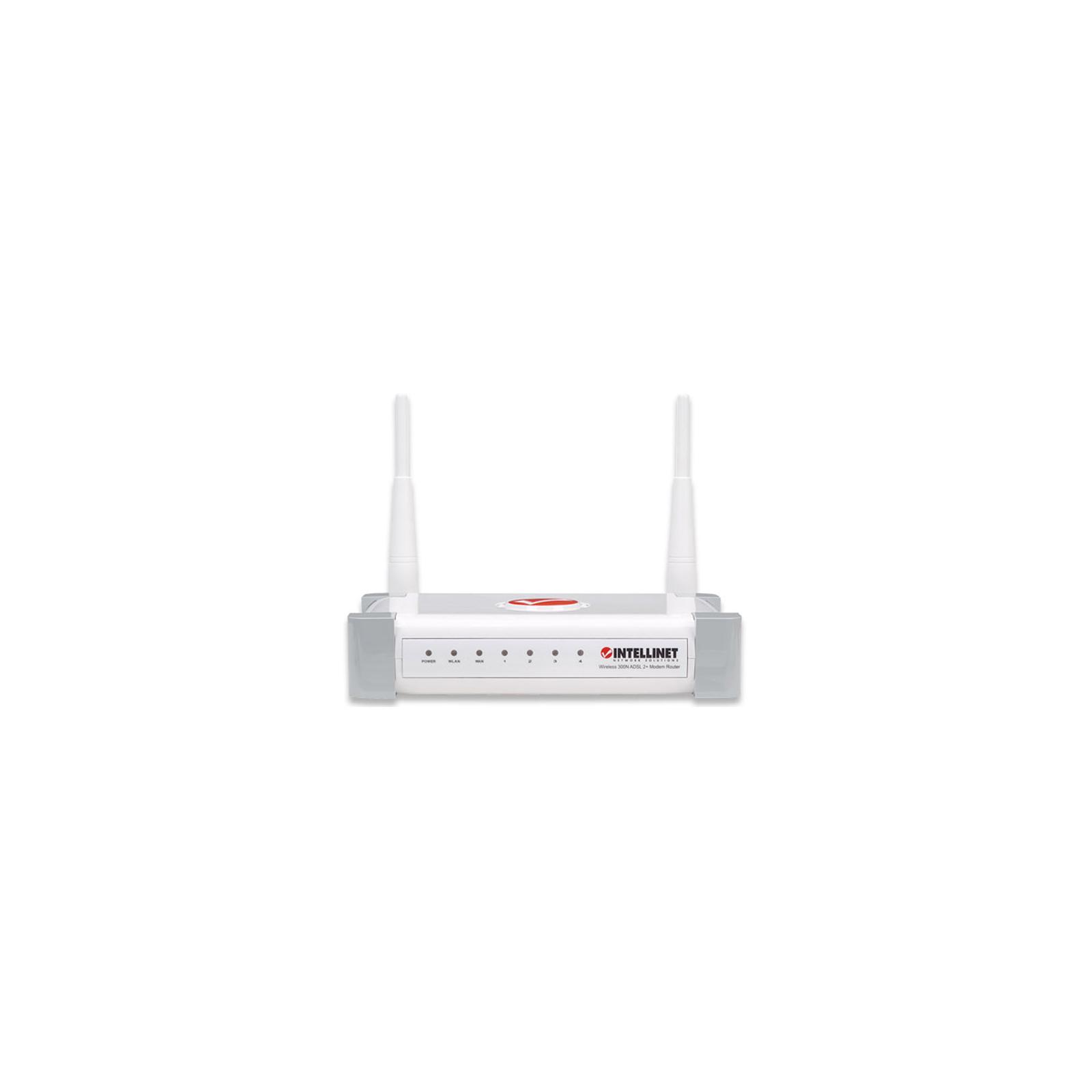 Маршрутизатор Intellinet 300N ADSL2+ Modem Route изображение 2