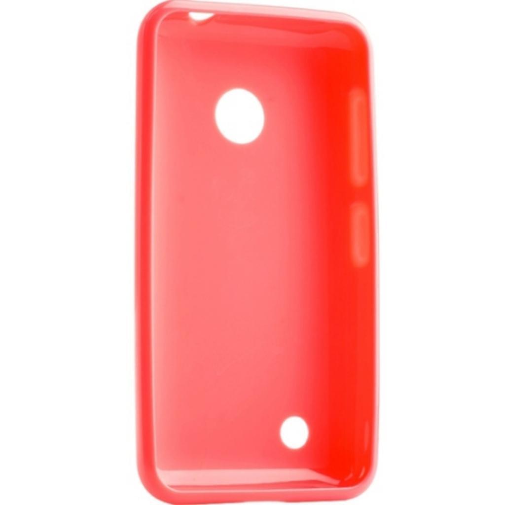 Чехол для моб. телефона Melkco для Nokia Lumia 530 Poly Jacket TPU Pink (6184769) изображение 2