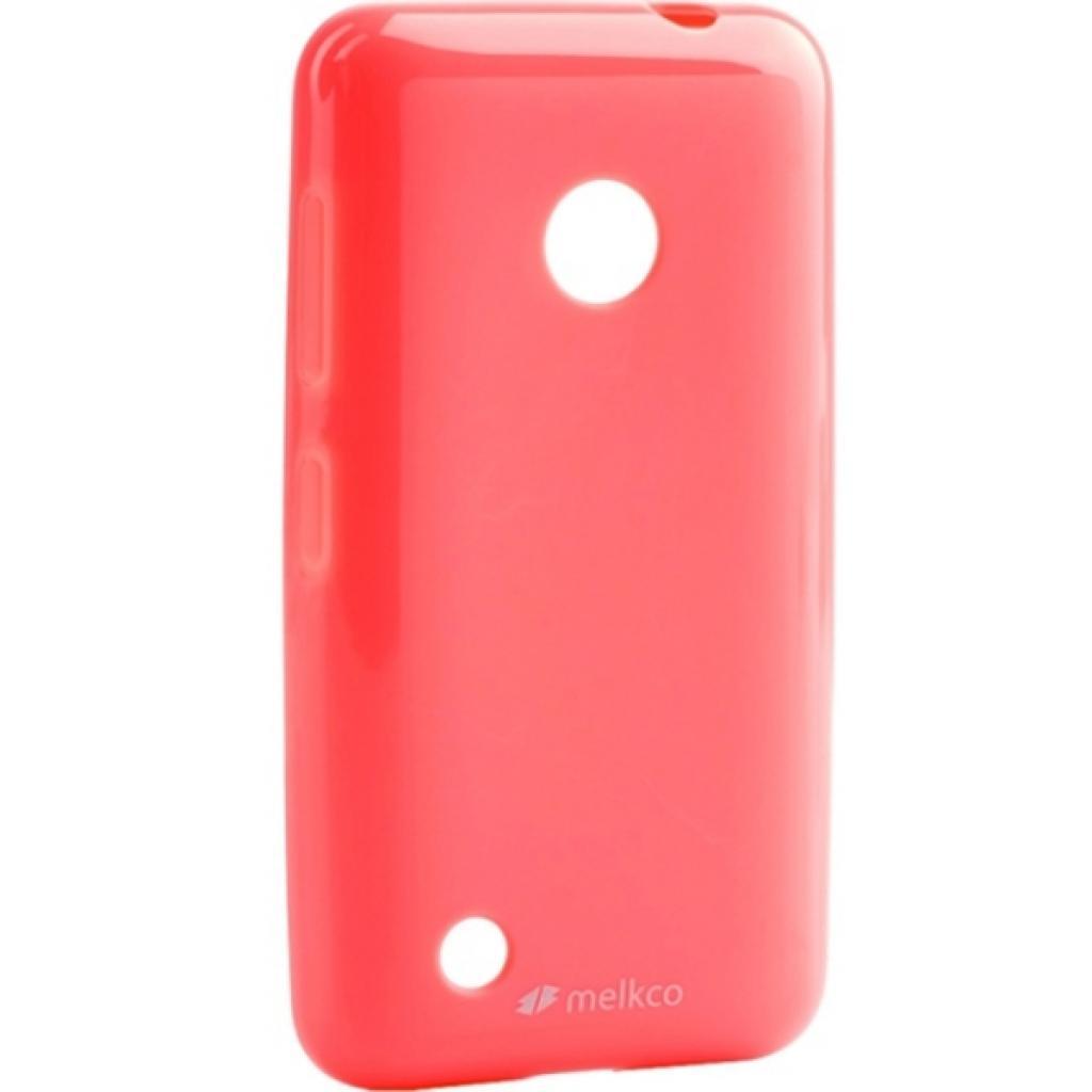 Чехол для моб. телефона Melkco для Nokia Lumia 530 Poly Jacket TPU Pink (6184769)