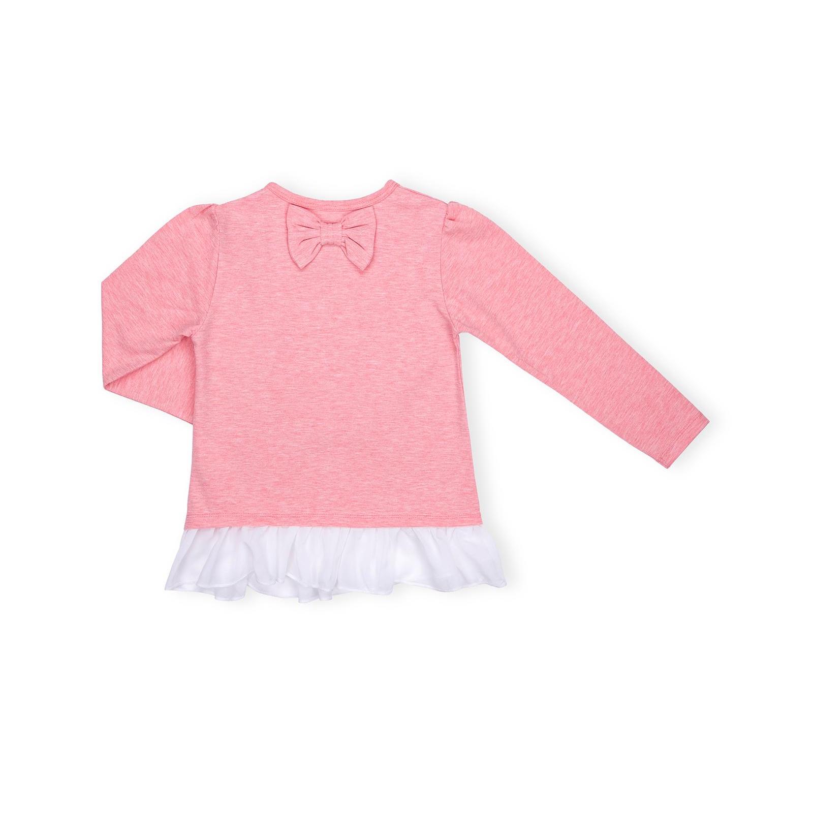 Кофта Breeze со звездой и оборкой (10536-110G-pink) изображение 2