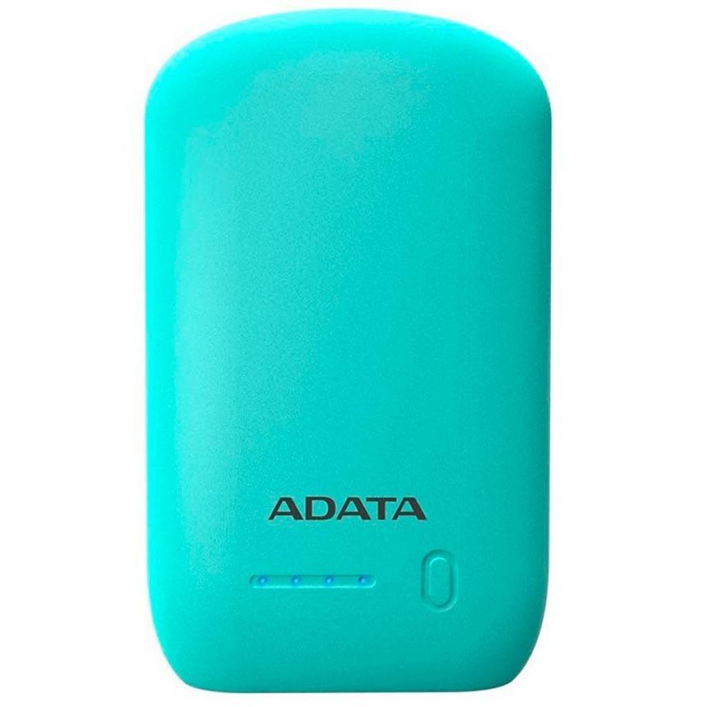 Батарея универсальная ADATA P10050 10050mAh Green (AP10050-DUSB-5V-CGN) изображение 2