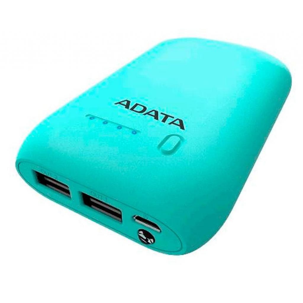 Батарея универсальная ADATA P10050 10050mAh Green (AP10050-DUSB-5V-CGN) изображение 3