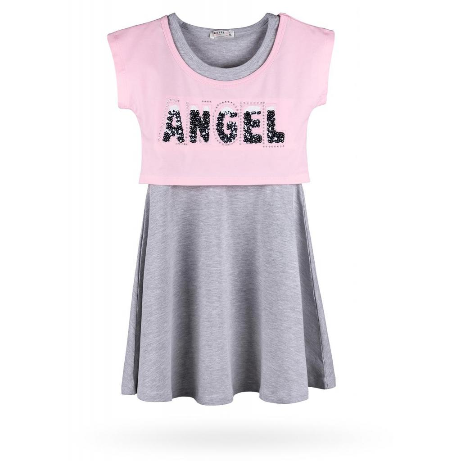 """Платье Breeze с топом """"ANGEL"""" (10254-116G-pink) изображение 4"""