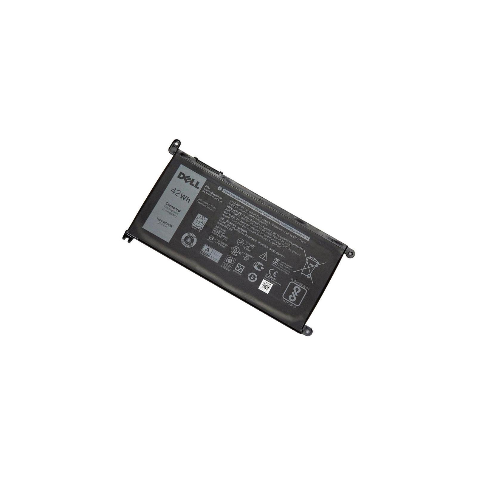 Аккумулятор для ноутбука Dell Inspiron 15-5568 WDX0R, 42Wh (3500mAh), 3cell, 11.4V (A47307) изображение 2