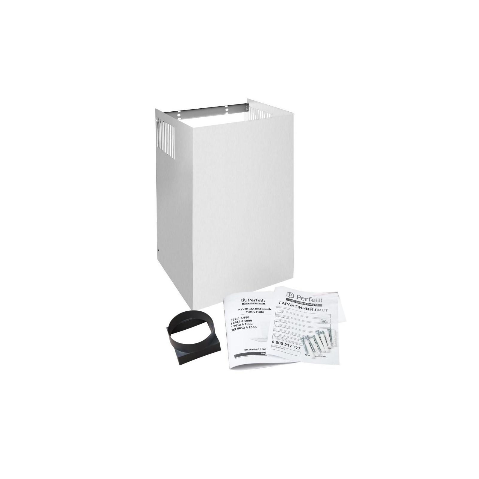 Вытяжка кухонная PERFELLI TET 6612 A 1000 I LED изображение 9