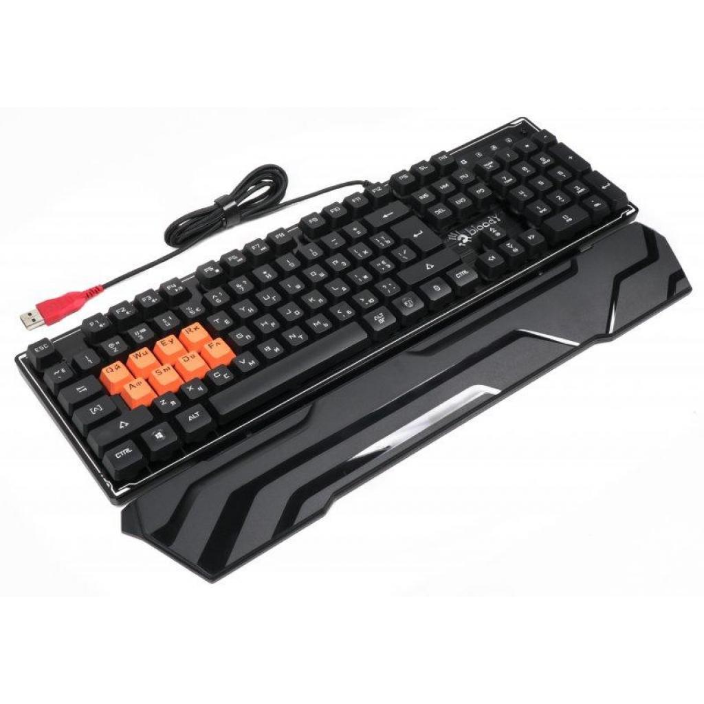 Клавиатура A4tech Bloody B3370R Black изображение 3