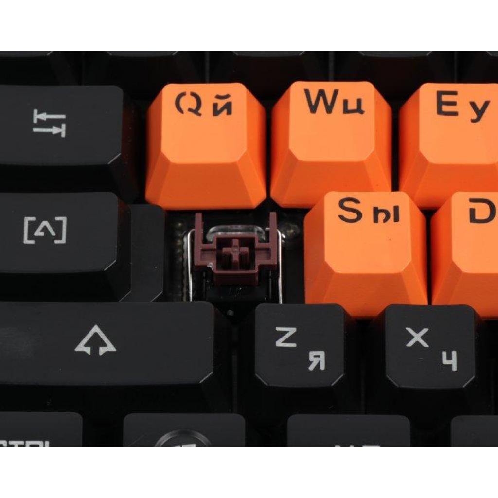 Клавиатура A4tech Bloody B3370R Black изображение 4