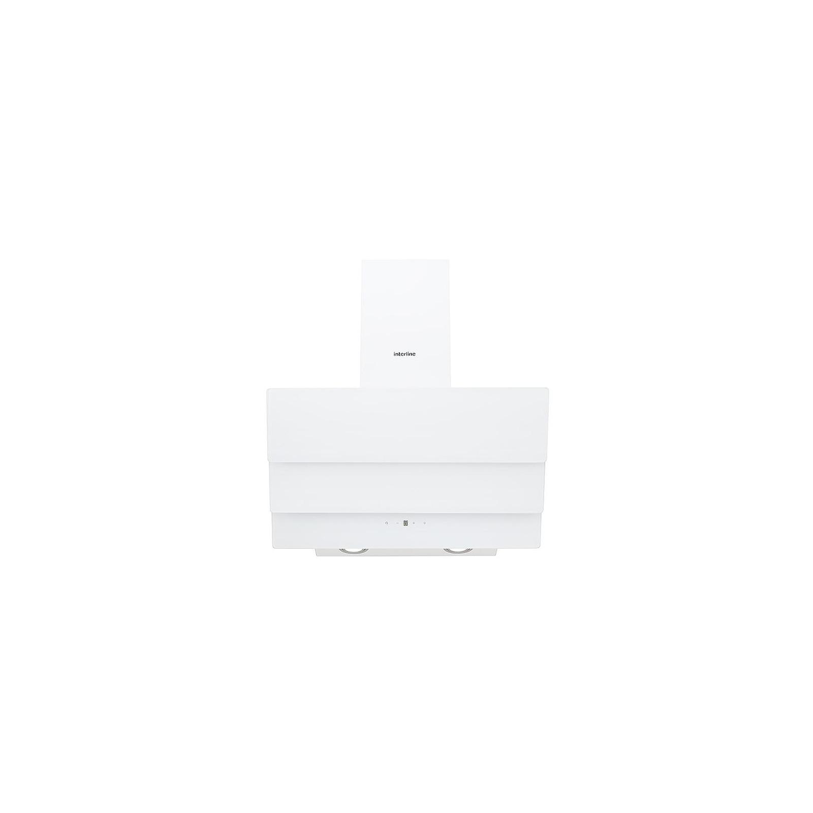 Вытяжка кухонная INTERLINE AIR WH A/60/GL/T