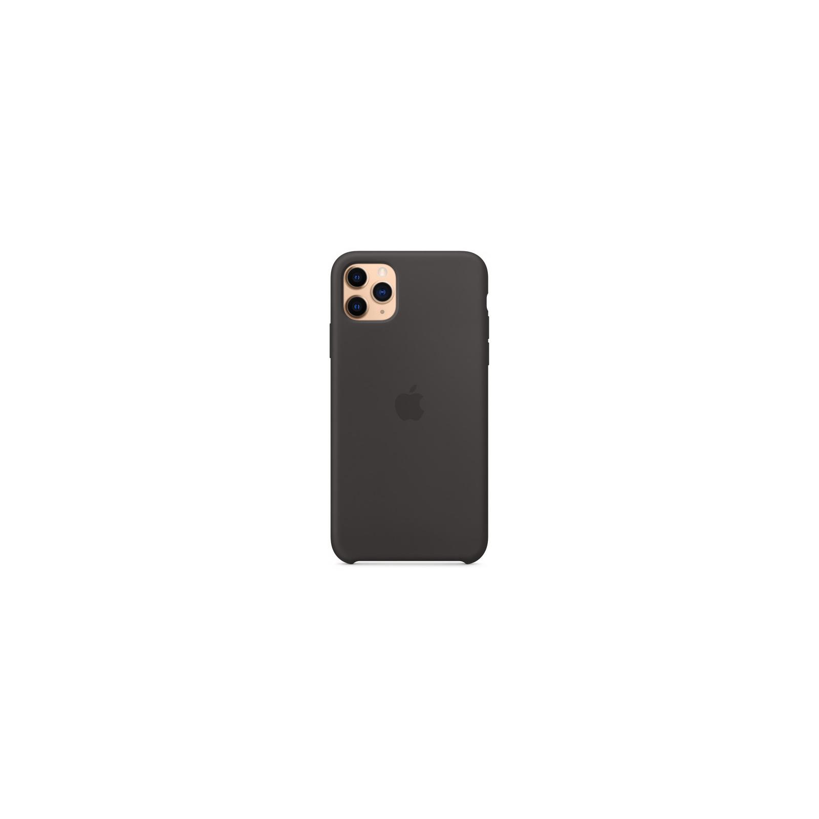 Чехол для моб. телефона Apple iPhone 11 Pro Max Silicone Case - Pine Green (MX012ZM/A) изображение 4