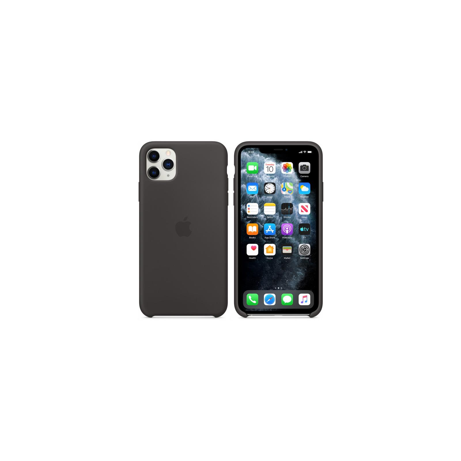 Чехол для моб. телефона Apple iPhone 11 Pro Max Silicone Case - Pine Green (MX012ZM/A) изображение 6