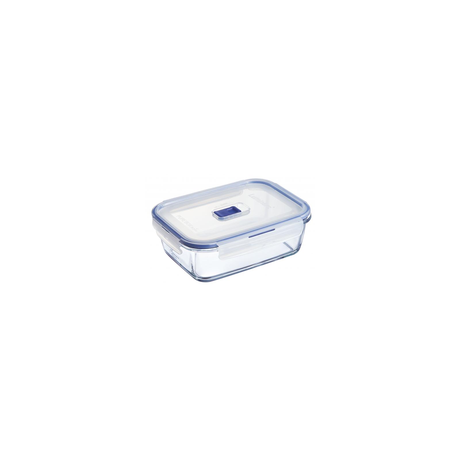 Пищевой контейнер Luminarc Pure Box Active набор 2шт прямоуг. 820мл/1220мл (P5505) изображение 3