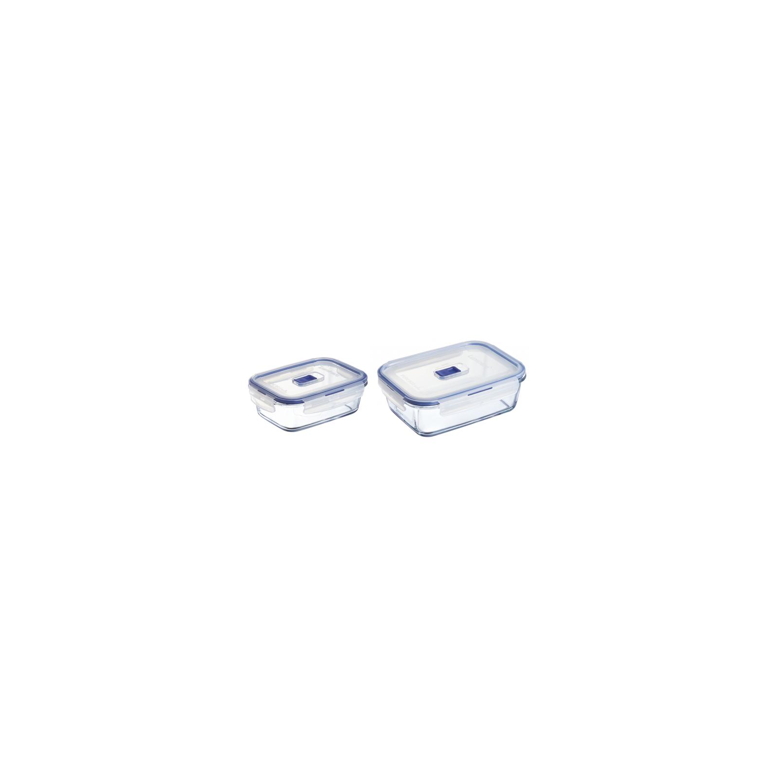 Пищевой контейнер Luminarc Pure Box Active набор 2шт прямоуг. 820мл/1220мл (P5505)