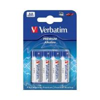 Батарейка AA alcaline 4pcs Verbatim (49921)