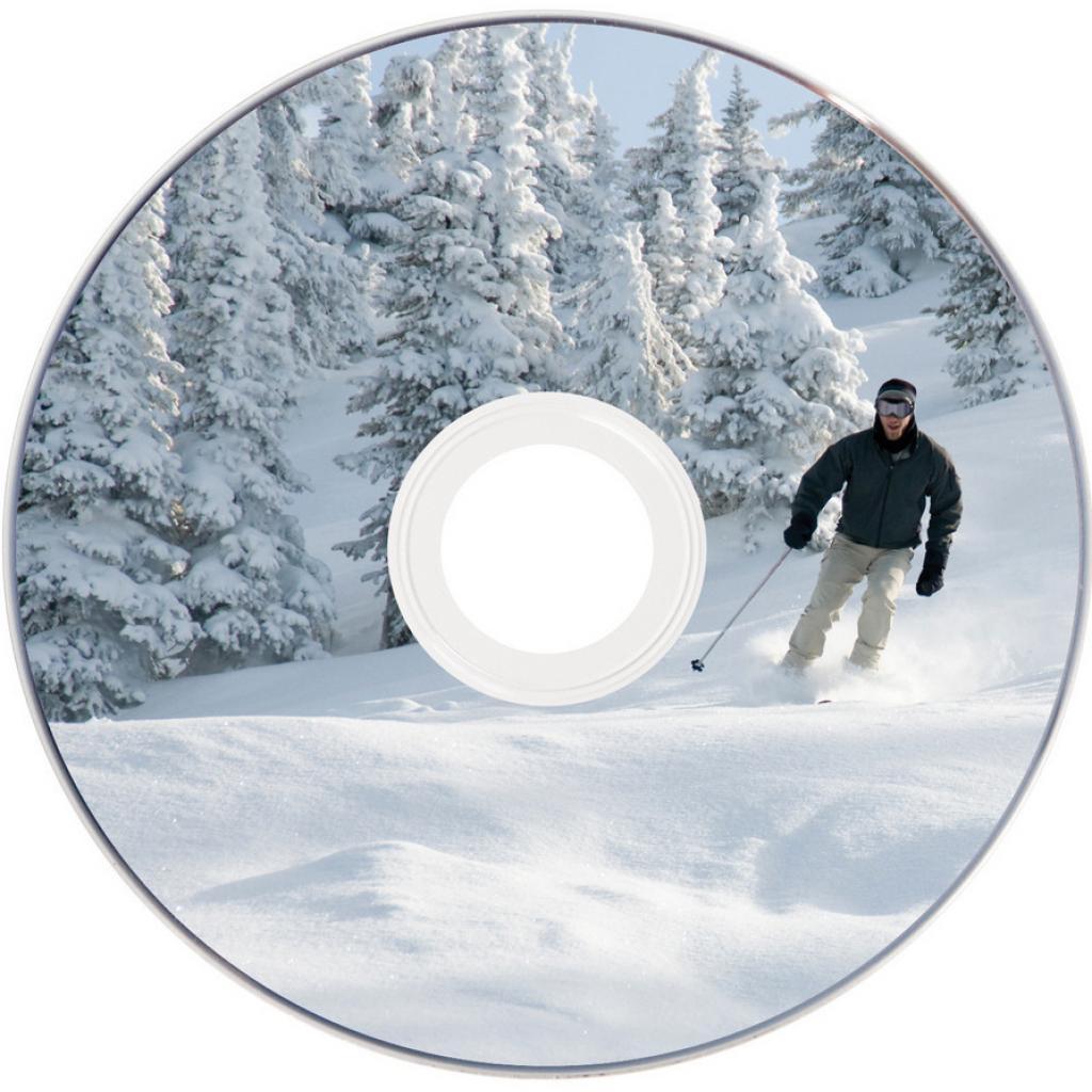 Диск DVD Verbatim mini 1.4Gb 4X CakeBox Printable 10ш (43641) изображение 3