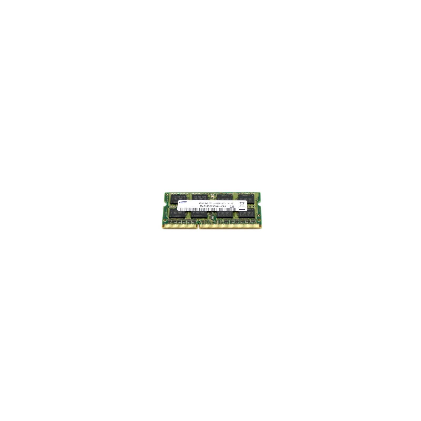 Модуль памяти для ноутбука SoDIMM DDR3 4GB 1066 MHz Samsung (Original)