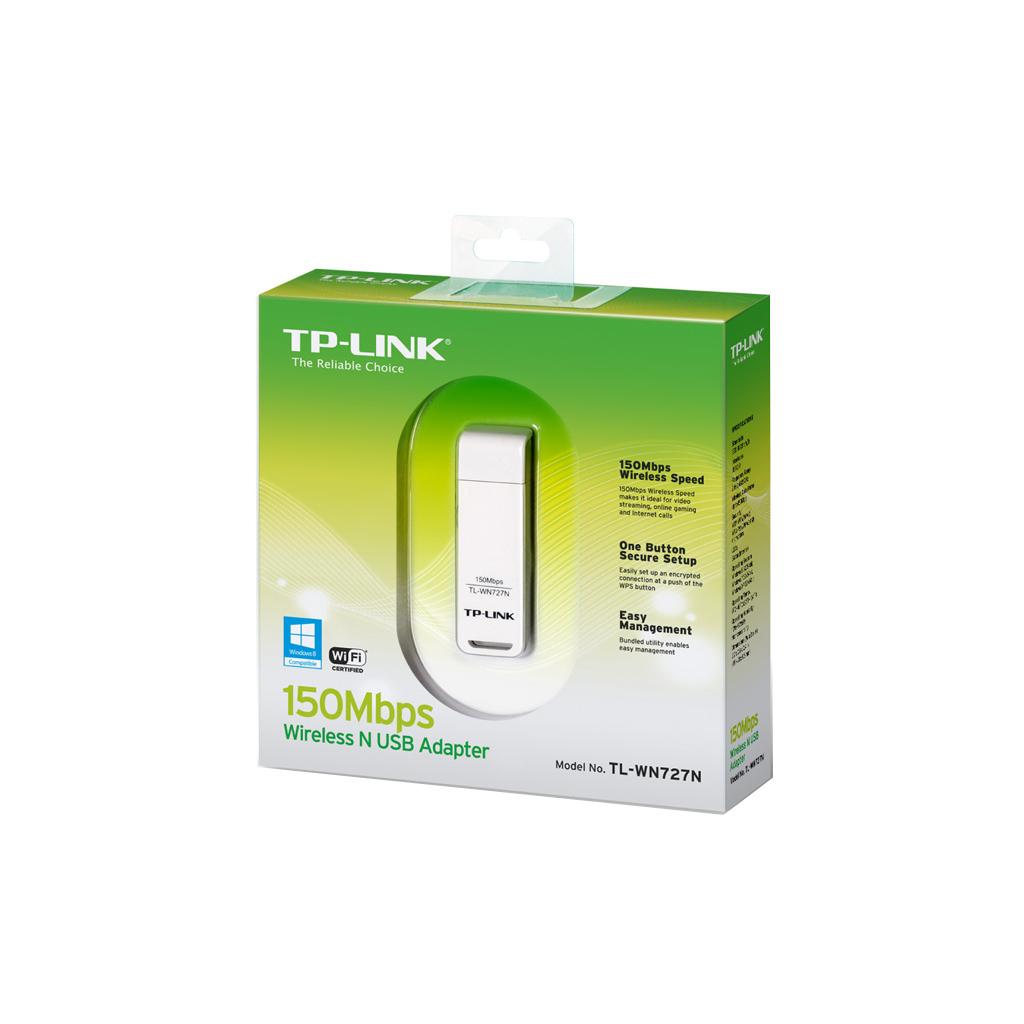 Сетевая карта Wi-Fi TP-Link TL-WN727N изображение 2