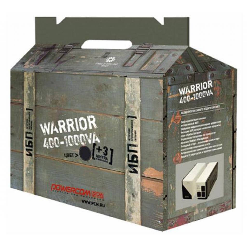 Источник бесперебойного питания WAR-400 А Schuko Powercom (WAR-400A Schuko) изображение 3
