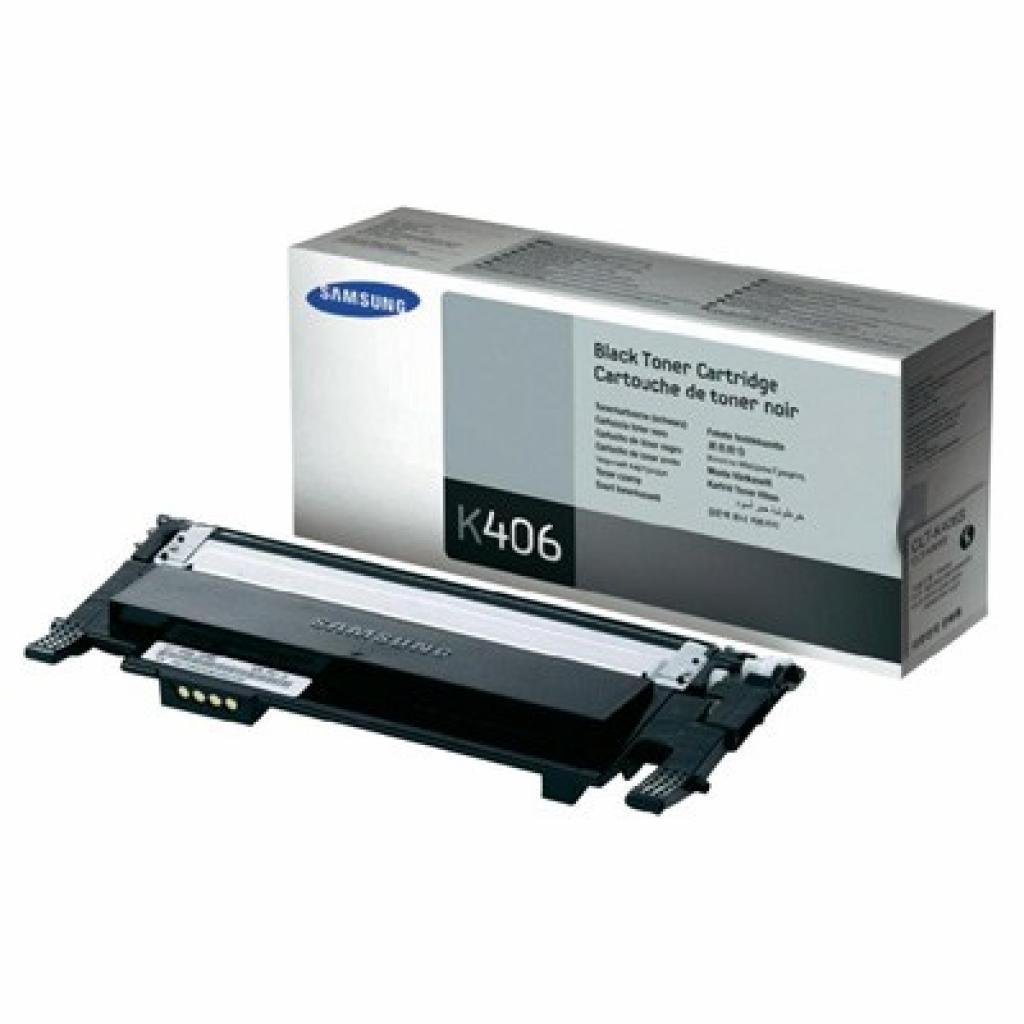 Картридж Samsung CLP-365 CLX-3305/3305FN black (CLT-K406S)