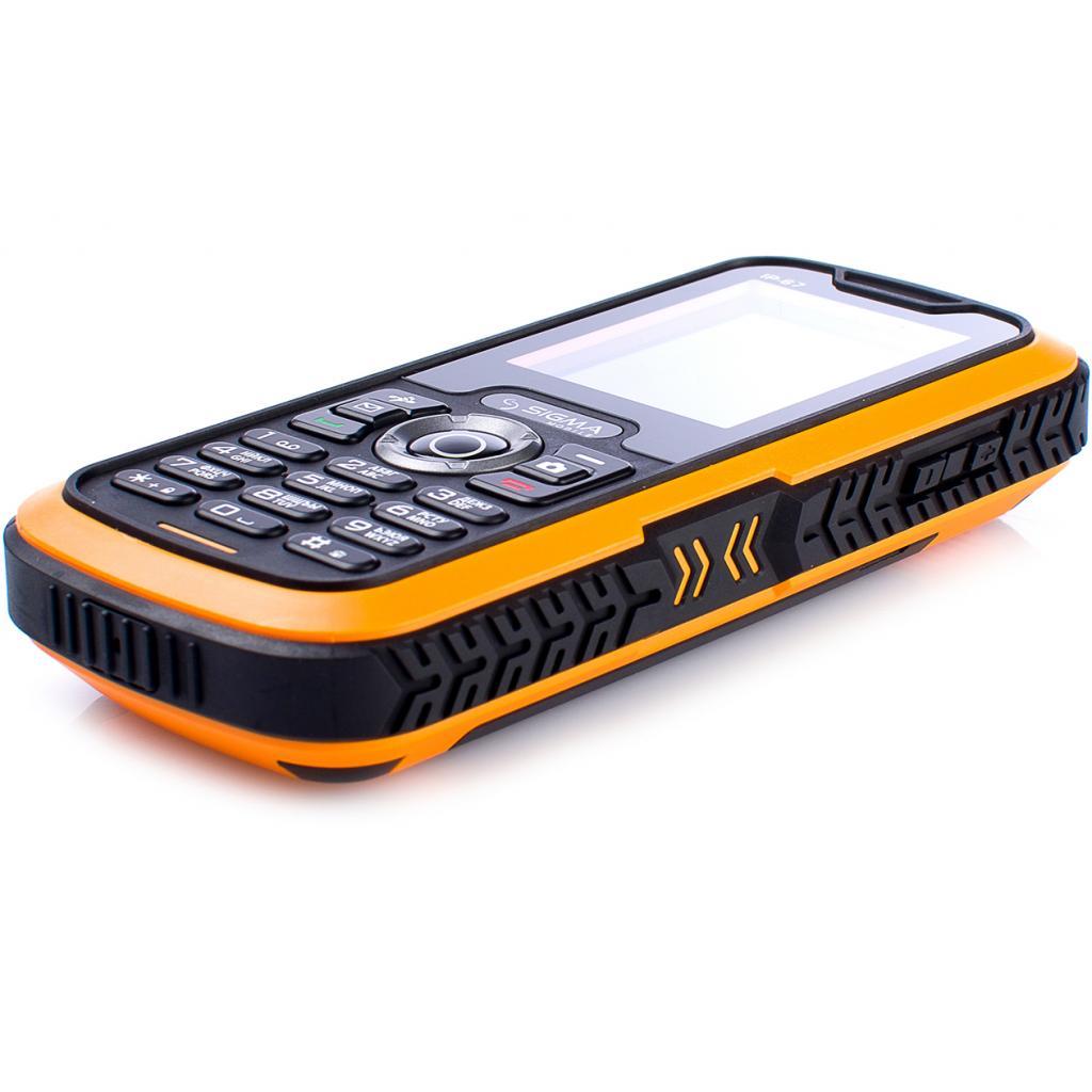 Мобильный телефон Sigma X-treme IP67 Dual Sim Black Orange (6907798423537) изображение 5