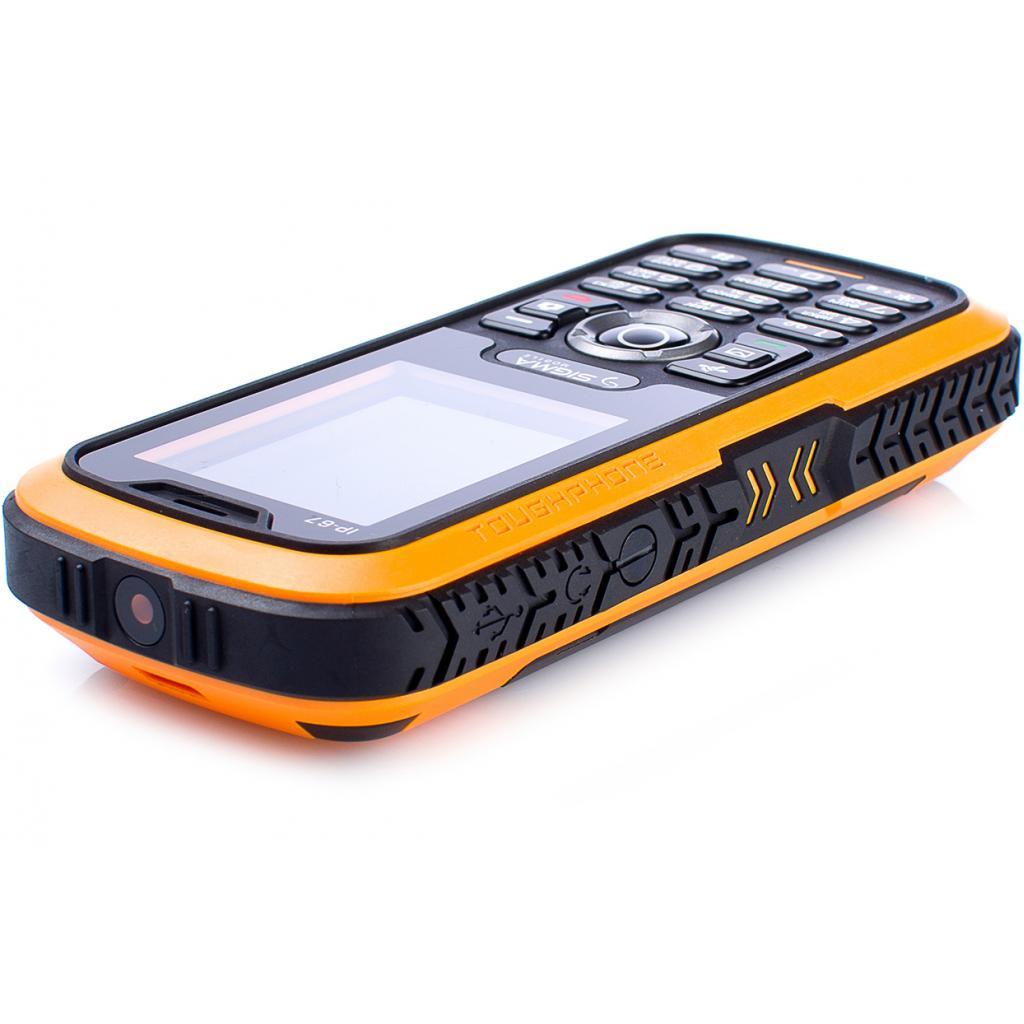 Мобильный телефон Sigma X-treme IP67 Dual Sim Black Orange (6907798423537) изображение 6