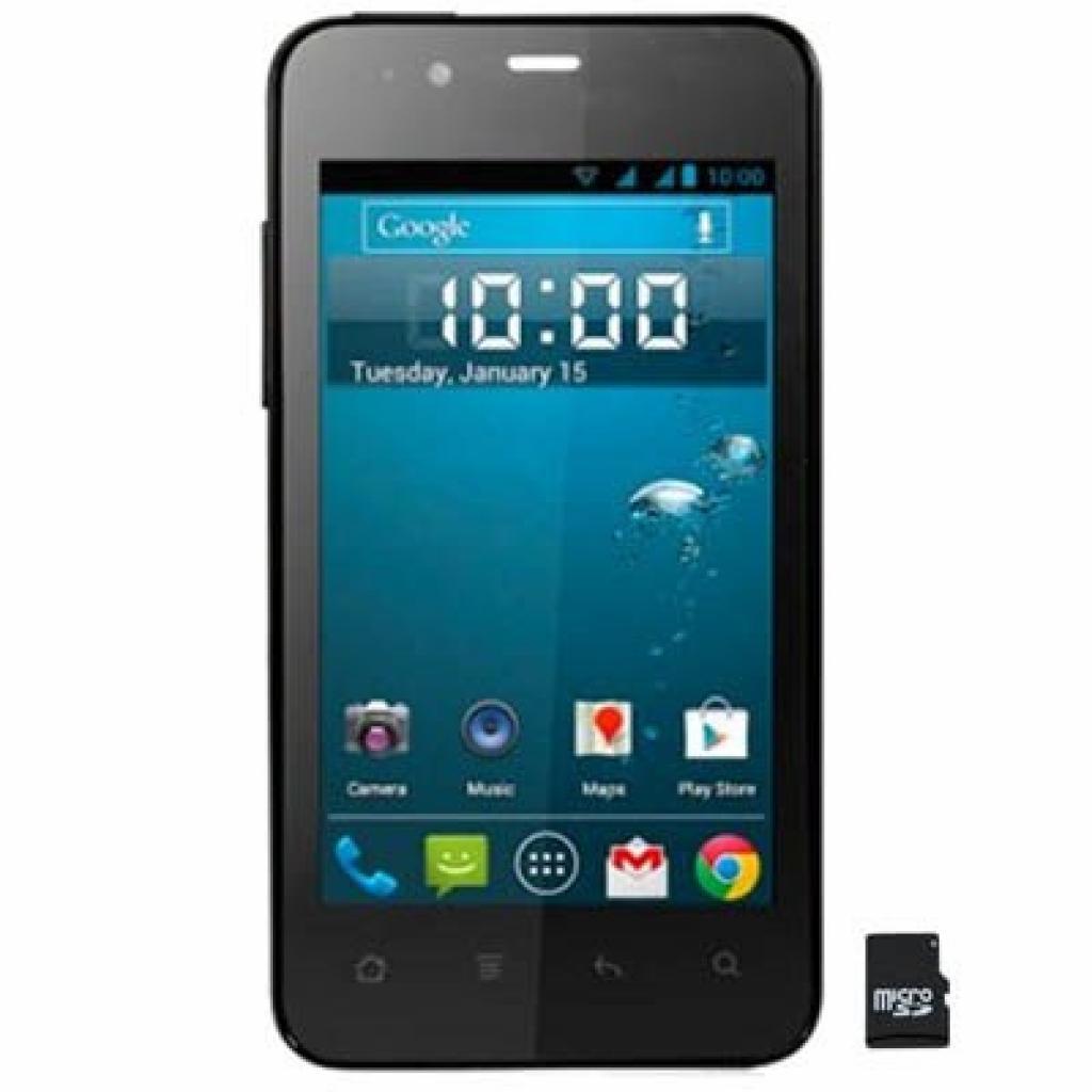 Мобильный телефон GIGABYTE GSmart Rio R1 Black (4712364754784)