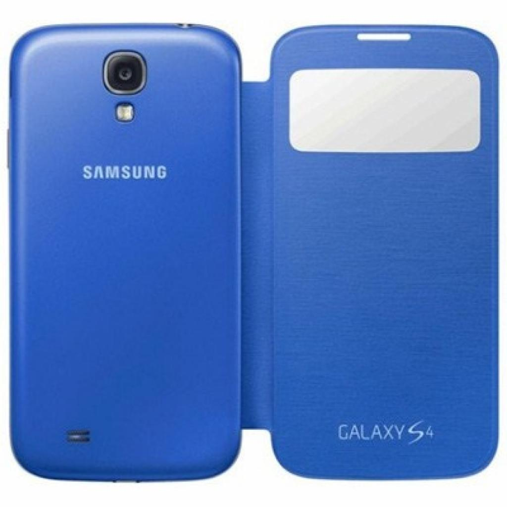 Чехол для моб. телефона Samsung I9500 Galaxy S4/Light Blue/S View Cover (EF-CI950BCEGWW)