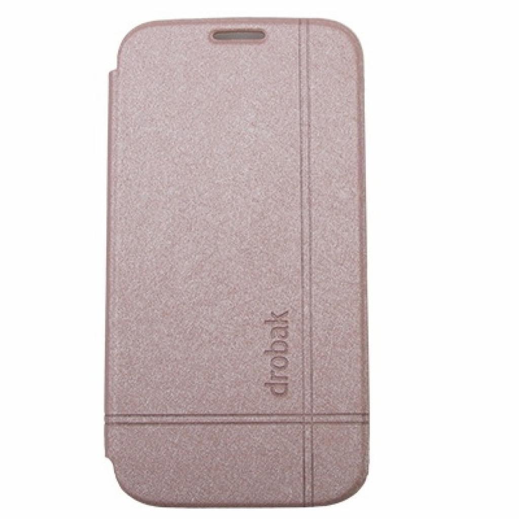 Чехол для моб. телефона Drobak для Samsung I9500 Galaxy S4 /Simple Style/Gold (215286)