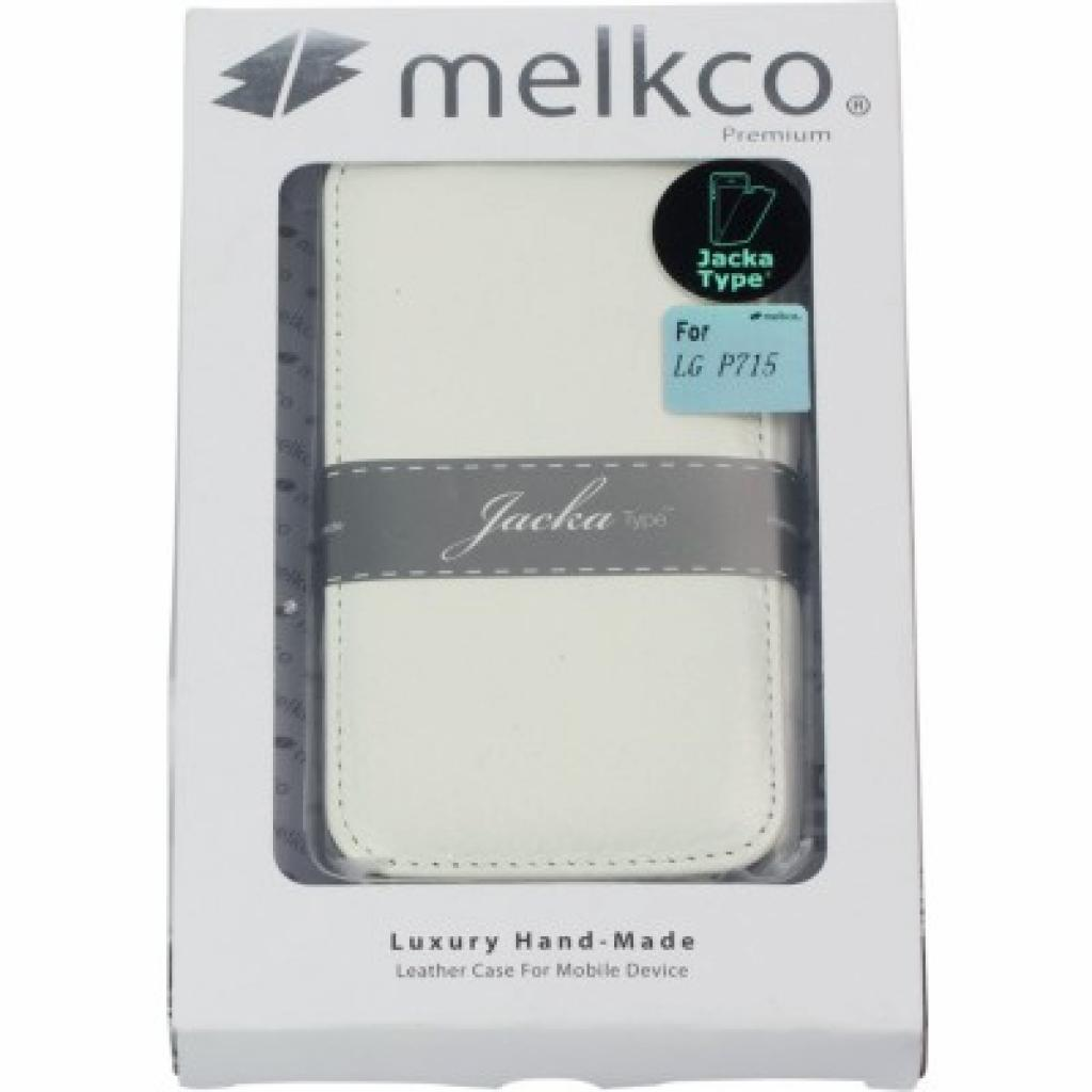 Чехол для моб. телефона Melkco для LG P715 Optimus L7 II Dual white (LGP715LCJT1WELC) изображение 5