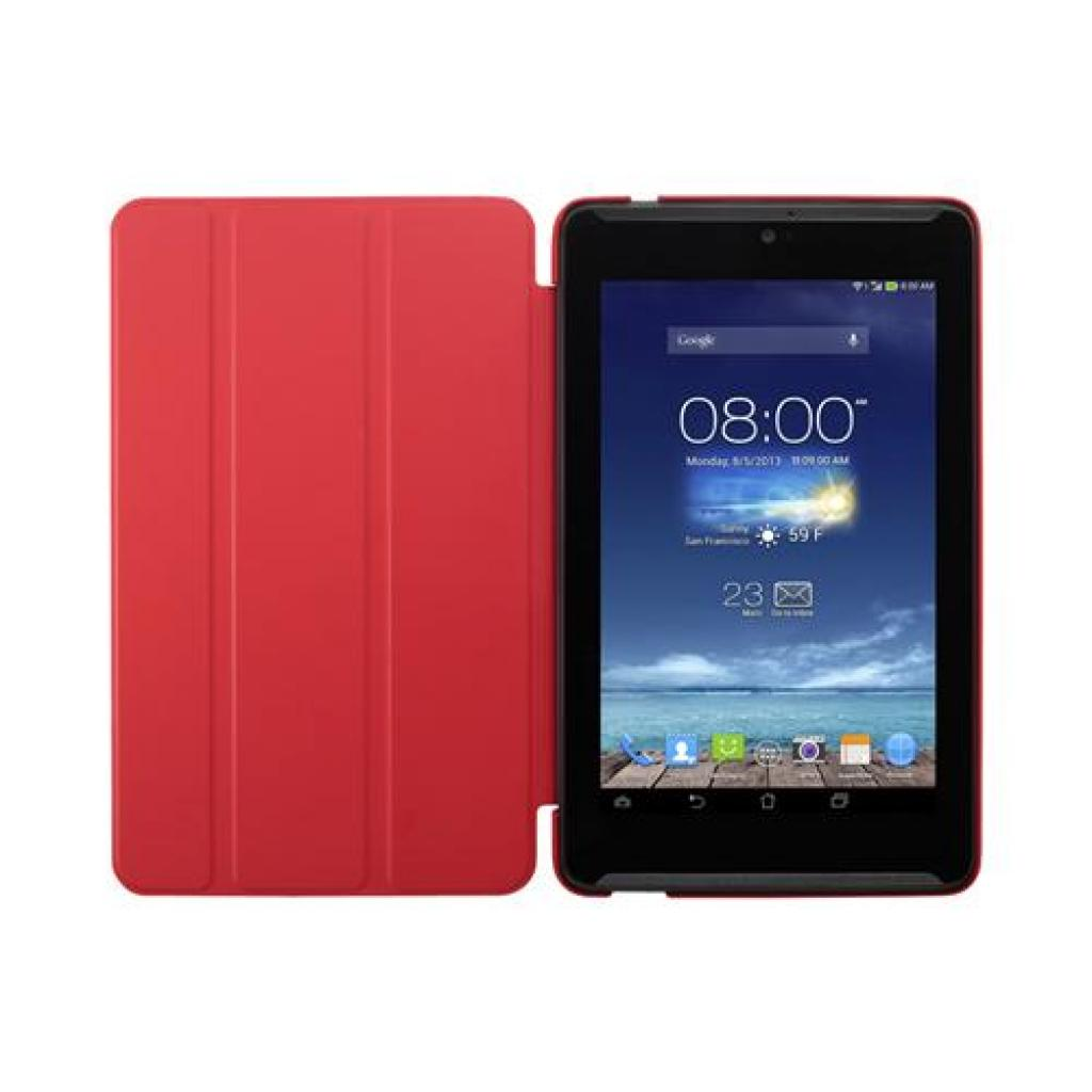 Чехол для планшета ASUS 10 ME102A TriCover Red (90XB015P-BSL080) изображение 3