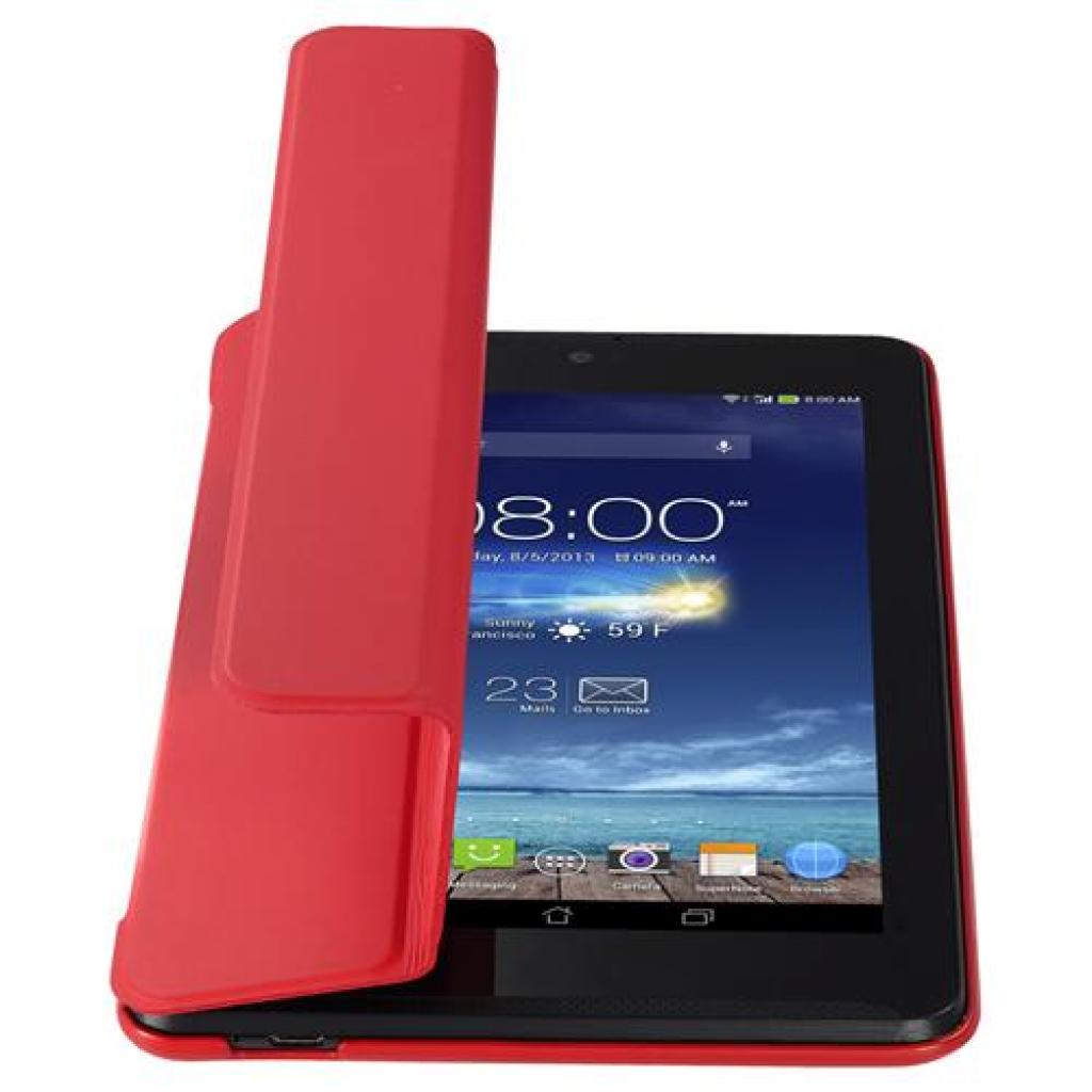 Чехол для планшета ASUS 10 ME102A TriCover Red (90XB015P-BSL080) изображение 4