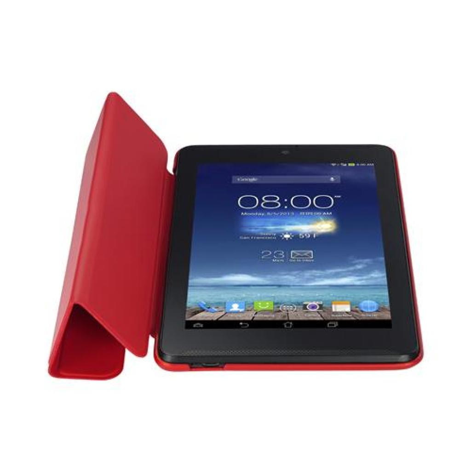 Чехол для планшета ASUS 10 ME102A TriCover Red (90XB015P-BSL080) изображение 6