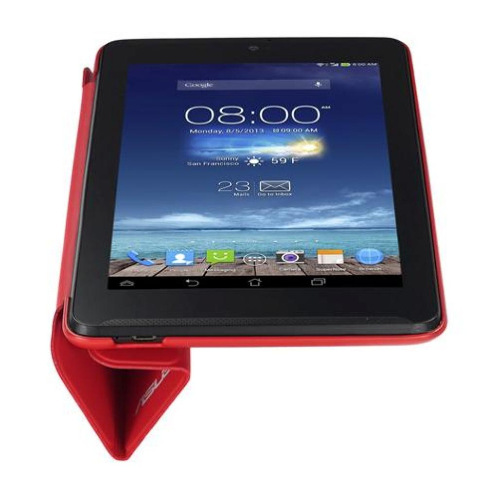 Чехол для планшета ASUS 10 ME102A TriCover Red (90XB015P-BSL080) изображение 8