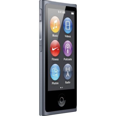 mp3 плеер Apple iPod nano 16GB Space Gray (7Gen) (ME971QB/A) изображение 3