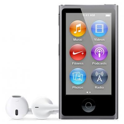 mp3 плеер Apple iPod nano 16GB Space Gray (7Gen) (ME971QB/A)